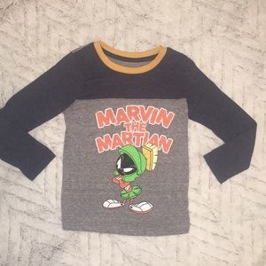 Little boys sz 5 Marvin the Martian shirt